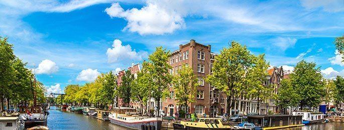 Container huren in Amsterdam